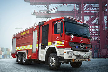Industrial Firefighting Vehicles